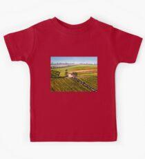 Tuscany - Vineyards Kids Tee