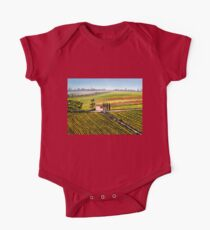 Tuscany - Vineyards One Piece - Short Sleeve