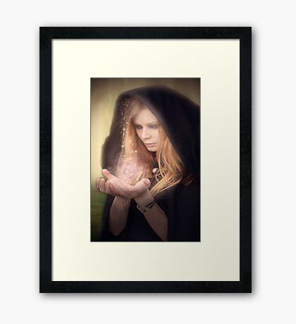 Sorceress Framed Print