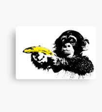 Bad Monkey Canvas Print