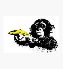 Bad Monkey Photographic Print