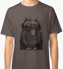 Black Creepycat Classic T-Shirt