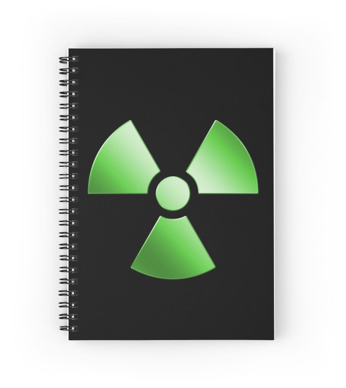 Radioactive symbol warning sign radioactivity radiation radioactive symbol warning sign radioactivity radiation green by graphix buycottarizona