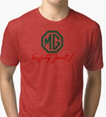 MG Safety Fast Tri-blend T-Shirt