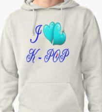 I LOVE K-POP Pullover Hoodie