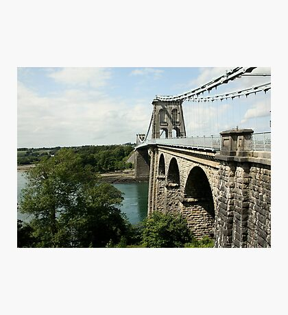 Menai Suspension Bridge Photographic Print