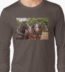 The Three Amigos - Heavy Work Horses Long Sleeve T-Shirt