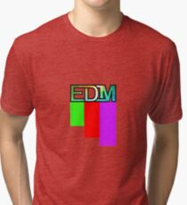 Artistic EDM Tri-blend T-Shirt