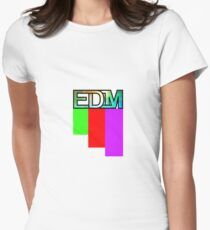 Artistic EDM Women's Fitted T-Shirt