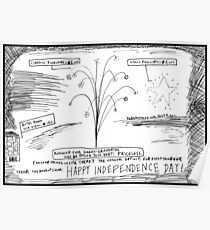 Happy In Dependence Day America! Poster