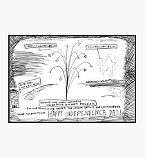 Happy In Dependence Day America! Photographic Print