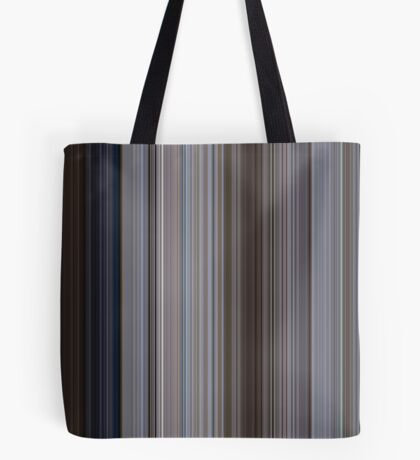 Moviebarcode: Jaws (1975) [Simplified Colors] Tote Bag