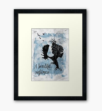 A Beautiful Nightmare Framed Print