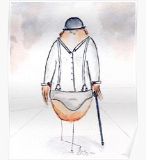 Alex DeLark- Nerdy Birdy Clockwork Orange Poster