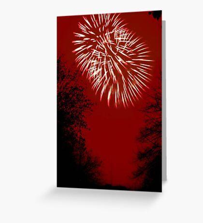 Fireworks Spectacular © Greeting Card