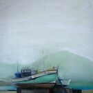 Misty morning at Houtbay Harbour. by irenee