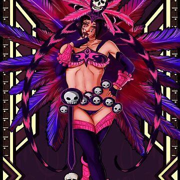 Aztec Juri Han by Kyousuke