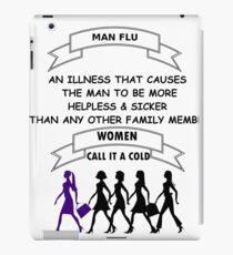 Man Flu iPad Case/Skin