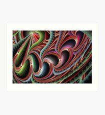 Disc-Julian 6 - Abstract Art Print