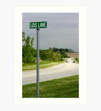 Lois Lane Art Print