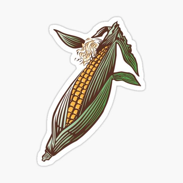 Corn Husk Sticker