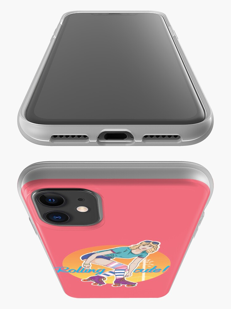 Alternate view of Rolling cute! iPhone Case & Cover