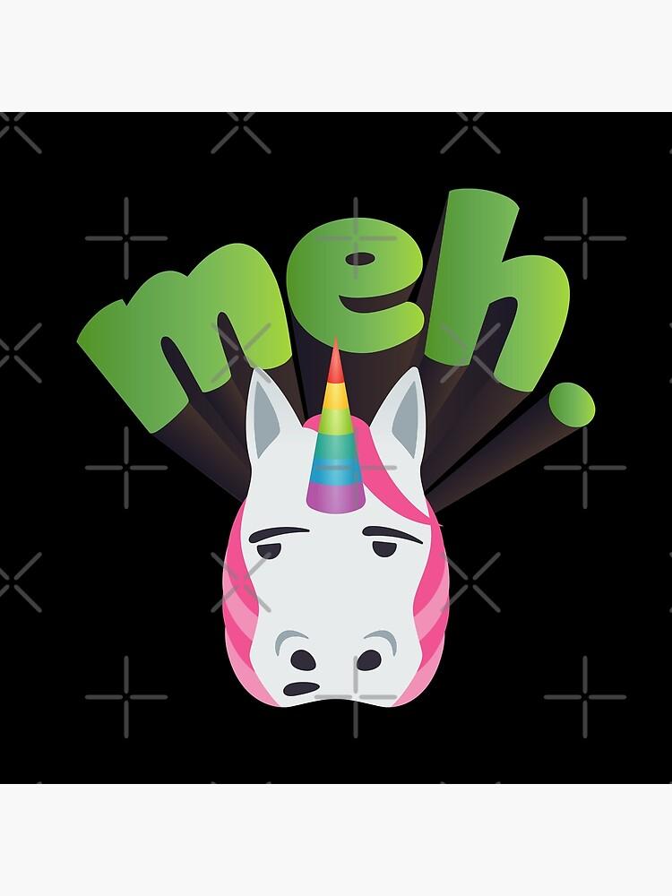Unicorn Meh Emoji Meme by M-alqersh