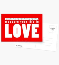 measure your life Postkarten