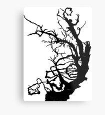 Gnarly Tree Metal Print