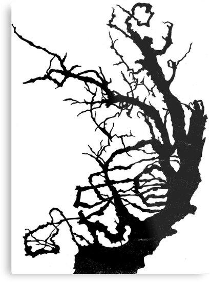 Gnarly Tree by ellejayerose