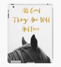 All Good Things - Horse iPad Case/Skin