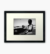 Pong Framed Print