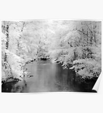Clarks Creek In Infrared Poster