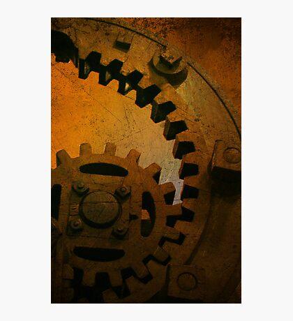 Iron Sunset Photographic Print