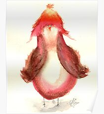 Jayne caCAWb- Firefly Nerdy Birdy Poster