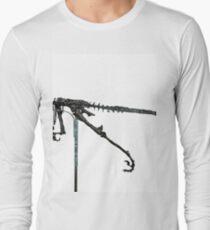Monstrous Deinonychus Long Sleeve T-Shirt