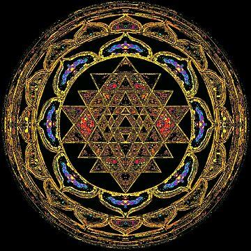 Ultimate Health Wealth Mandala by svahha