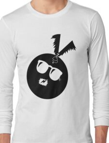 unique funny bat's hijacking graphic art Long Sleeve T-Shirt