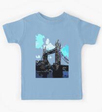 London Tower Bridge UK Kids Tee