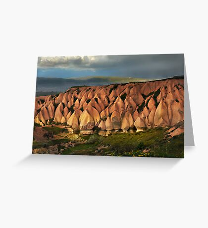 The Hills of Cappadocia Greeting Card