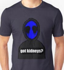 Eyeless Jack Got Kidneys? Unisex T-Shirt