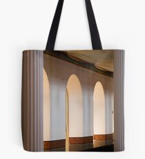 0030  Upstairs at Pitt St Tote Bag