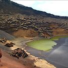 Green Crater lake by Janone
