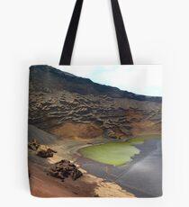 Green Crater lake Tote Bag