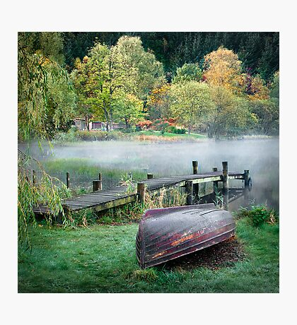 Loch Ard - At the Dock Photographic Print