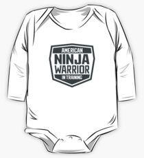 American Ninja Warrior in Training One Piece - Long Sleeve