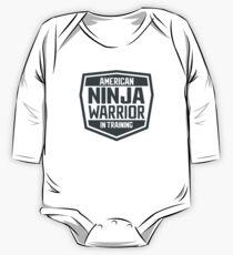 Body de manga larga American Ninja Warrior en entrenamiento