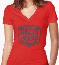 American Ninja Warrior in Training Women's Fitted V-Neck T-Shirt