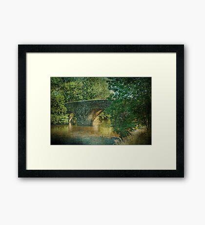 Exe Bridge Framed Print