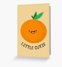 Happy Clementine Greeting Card